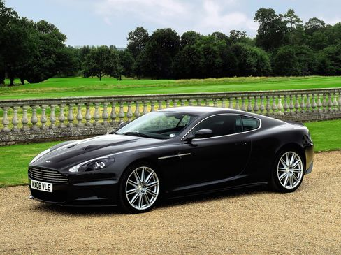 2008 Aston Martin 6 Litre V12 DBS 2-Door Coupe