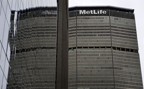 The MetLife Inc. Headquarters Building Stands in New York