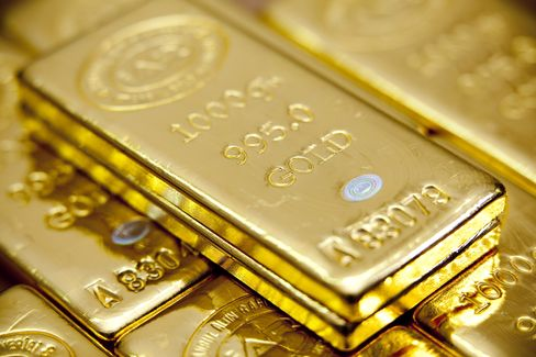 Gold May Climb as Concern About European Debts Increases