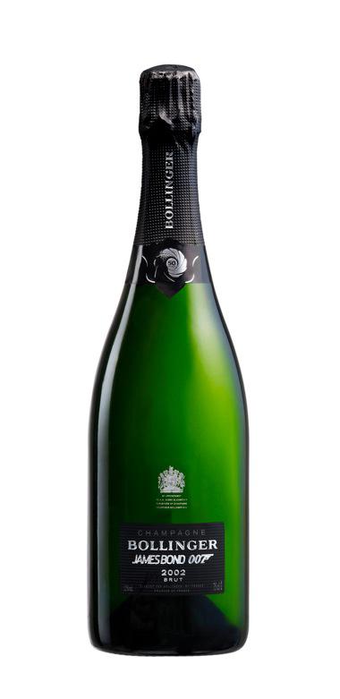 Champagne Bollinger's 2002 La Grande Annee