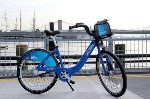 New York City Begins Selling Memberships in Bike-Share Program