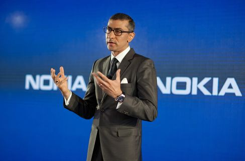 Incoming Nokia Oyj CEO Rajeev Suri
