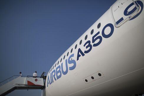 An Airbus SAS A350