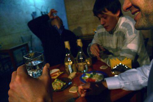 Putin Wages War on Vodka as Lifestyle Death Toll Nears Million