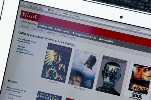 Netflix Gains After Satisfaction Survey: San Francisco Mover
