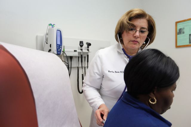 There's a better way to fix doctor pay. Photographer: Joe Raedle/Getty Images