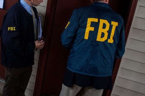 FBI officers (file picture)