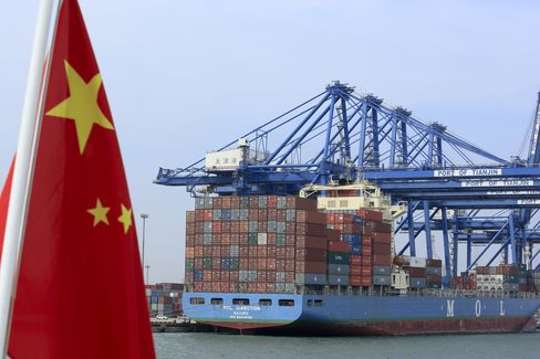 China's Nov. Exports Rise 2.9% From Year Earlier Vs. Est. 9%