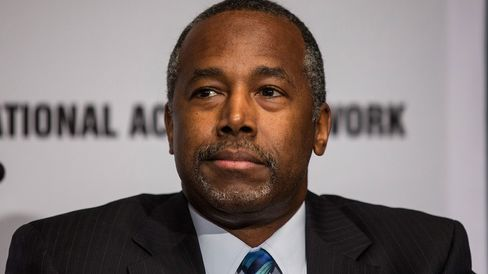 Ben Carson appears on April 8, 2015, in New York City.