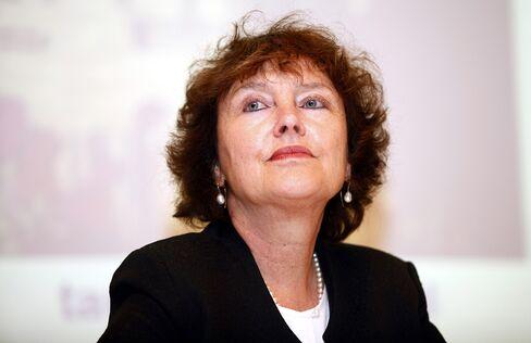 Bank of Israel Governor Karnit Flug