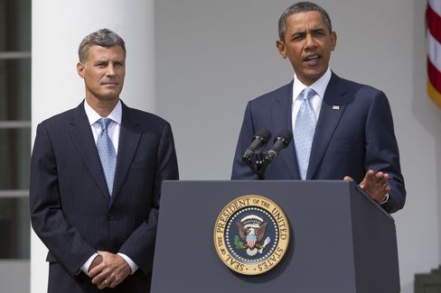US President Obama, Economic Adviser Alan Krueger