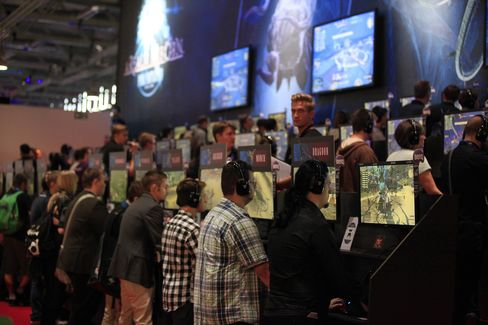 Gamescom Video Games Trade Fair