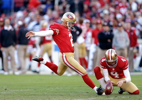 San Francisco 49ers Bring Worst Kicker in 29 Years to Super Bowl