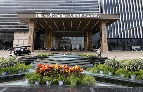 The Dalian Hilton Hotel