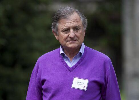 Vivendi Universal CEO Jean-Rene Fourtou