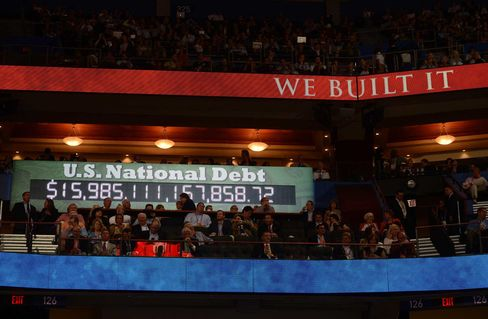 Debt Clock at the Republican Convention