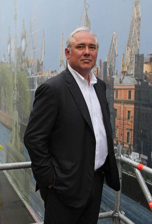 UBS AG Russia CEO Nicholas Jordan