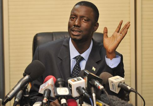 Niger's Justice Minister Marou Amadou