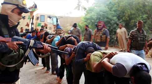 Militants From The Islamic State Of Iraq And The Levant (ISIL)