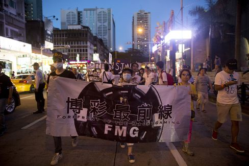 Macau Protest