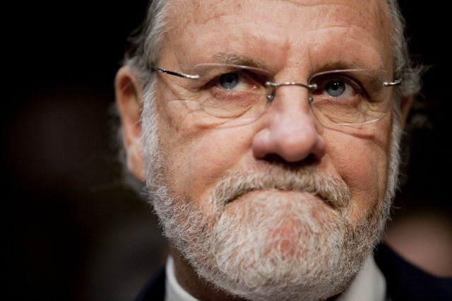 Former MF Global chief Jon Corzine probably didn't let the accountants guide his investing decisions. Photographer: Andrew Harrer/Bloomberg