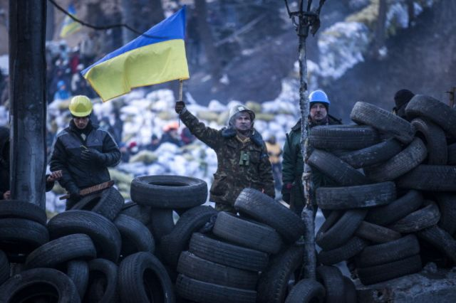 Recovering Ukraine's stolen money would be a help for these guys. Photographer: Rob Stothard/Getty Images