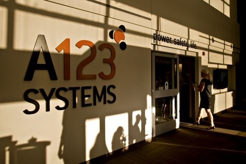 A123 Rescue by China Firm Draws Scrutiny on U.S.-Backed Supplier
