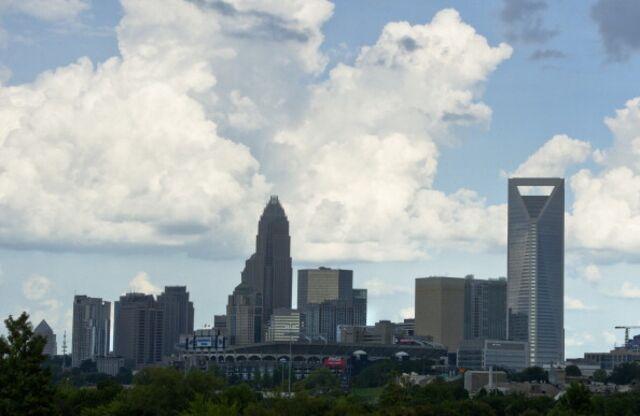 Charlotte, before it swallowed Birmingham.