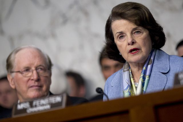 Senator Dianne Feinstein had some choice words for the CIA last week. Photographer: Andrew Harrer/Bloomberg
