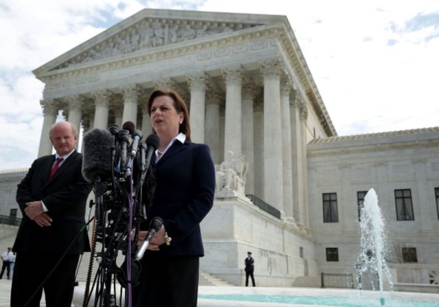 The court increasingly suggests that there's nothing special about election season as it relates to the exercise of free speech.Susan B. Anthony List President Marjorie Dannenfelser on April 22.