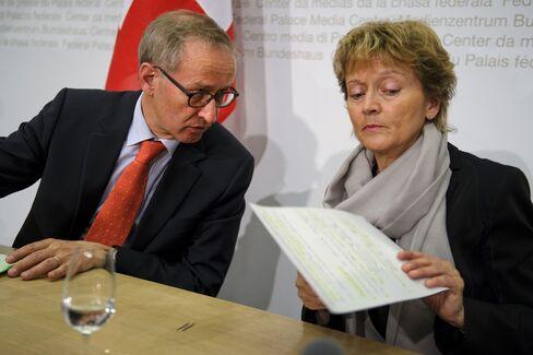 Top Swiss Negotiator Quits Amid Tax-Dispute Talks With U.S.