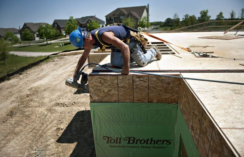Housing Collapse Erased in Bonds of Homebuilders