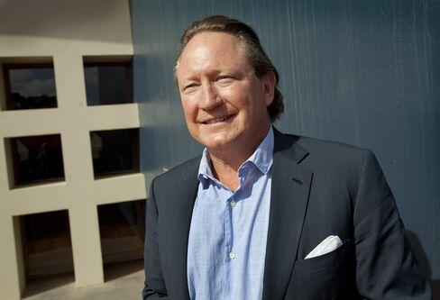 Fortescue Metals Group Ltd. Founder Andrew Forrest