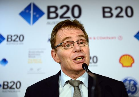BHP Billiton Ltd. CEO Andrew Mackenzie