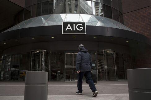 AIG Warrants Jump to Highest Since First Month