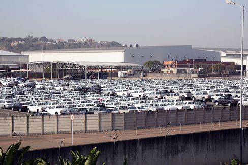 Toyota Plant In Prospecton, Durban
