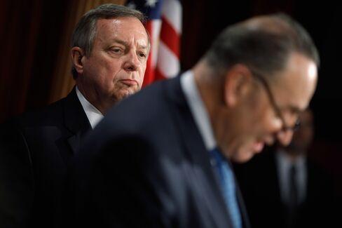 Senators Charles Schumer & Richard Durbin