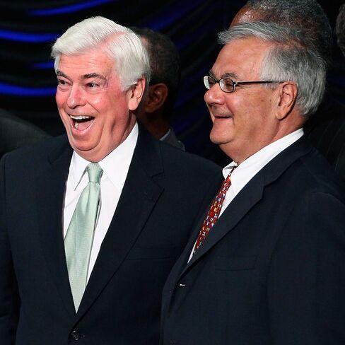 U.S. Senator Chris Dodd and Congressman Barney Frank