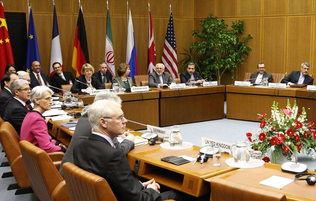 Iran nuclear talks restarted today at the United Nations in Vienna. Photographer: Dieter Nagl/AFP/Getty Images