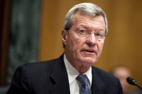 Senate Finance Chairman Max Baucus