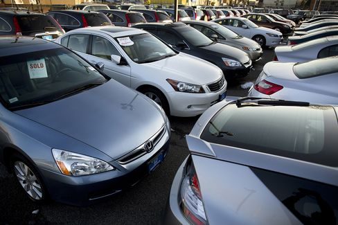 Credit-Fueled U.S. Car Sales May Need Help From Incomes: Economy
