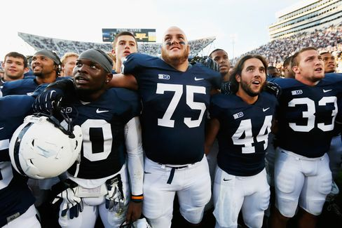 Penn State Football Struggles Under Sanctions as Revenue Grows