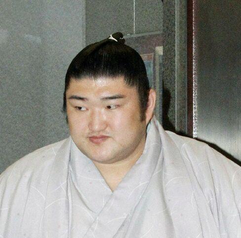 Sumo wrestler Kotomitsuki