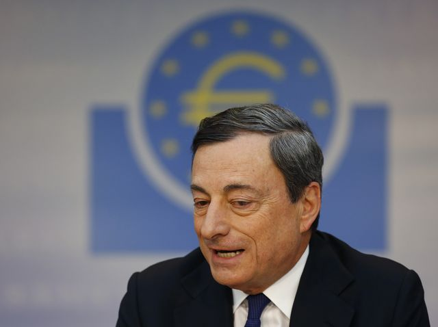 What else does Mario Draghi have in his toolbox?Photographer: Ralph Orlowski/Bloomberg