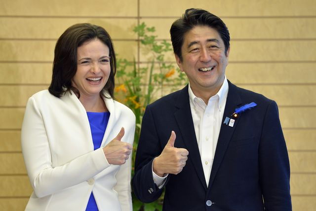 Abe talks a good game on empowering women, but now he has a chance to make a breakthrough gesture.