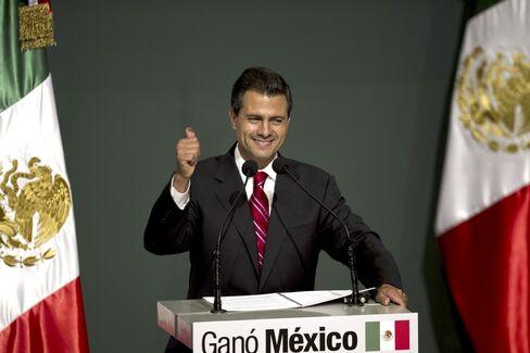 Pena Nieto Claims Win in Mexico Election