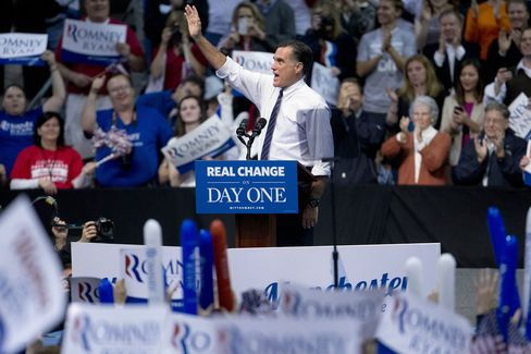 Romney Competes With Obama to Defy History in Presidential Race