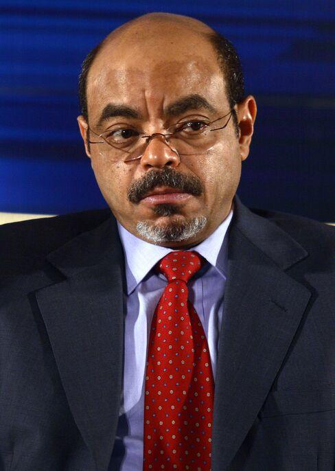 Ethiopia's Former Prime Minister Meles Zenawi