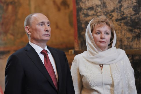 Putin, Wife Announce Divorce, Blaming Stress of President's Life