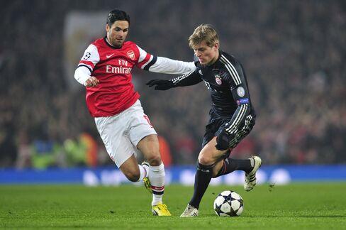 Bayern Munich Leaves Arsenal Seeking Champions League Turnaround